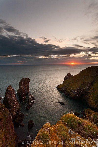 Sunrise at the St Abbs Head Nature reserve. I stood quite close to the edge of the clifftops to get this composition, but luckily there was only a moderate breeze and not the usual gale-force wind.