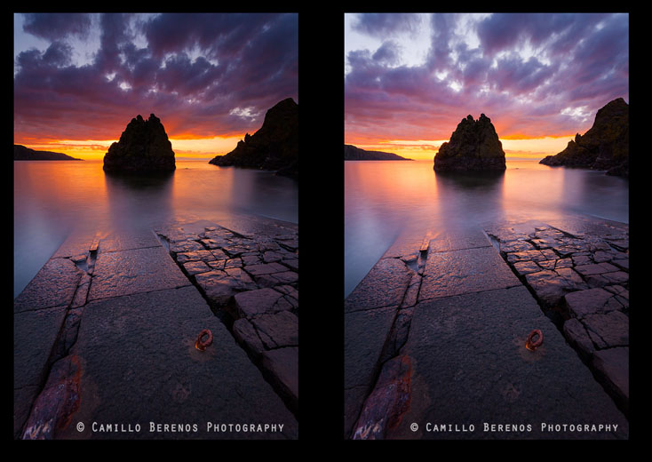 ND grad filter vs exposure blending.