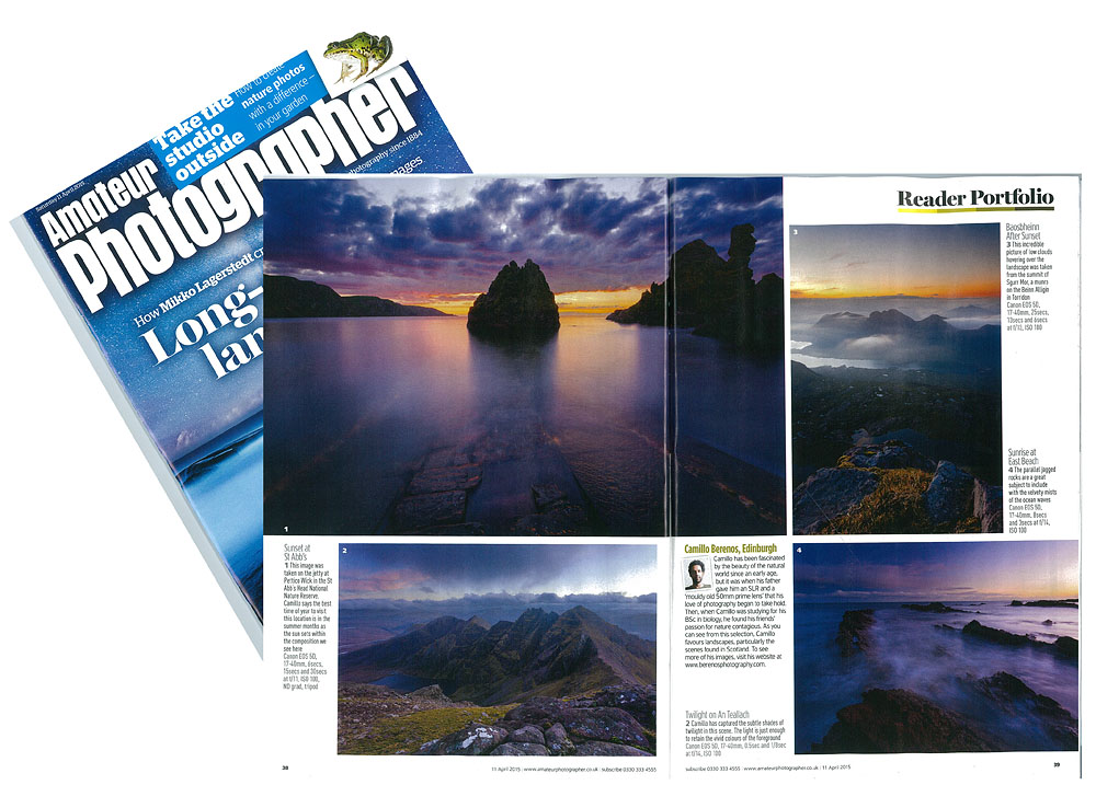 photos in Reader Portfolio in Amateur photographer Magazine
