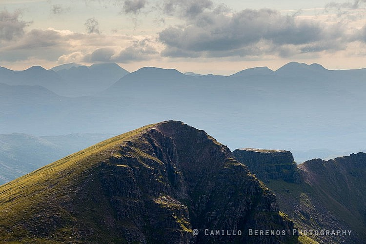 Meall Garbh and the Tennis Court, Fisherfield six