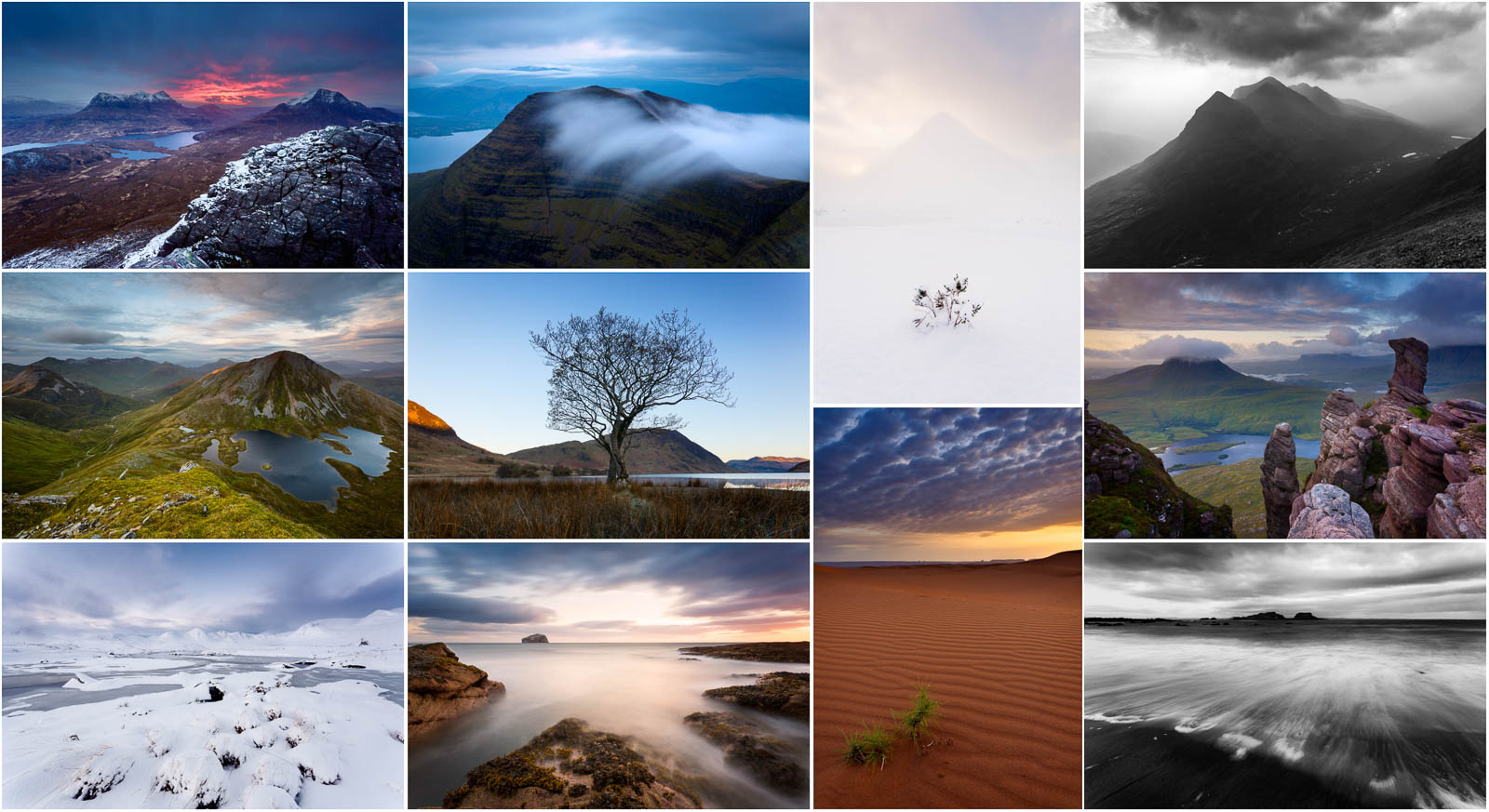 Fine art landscape photography of Scotland, in particular mountains of the Scottish Highlands