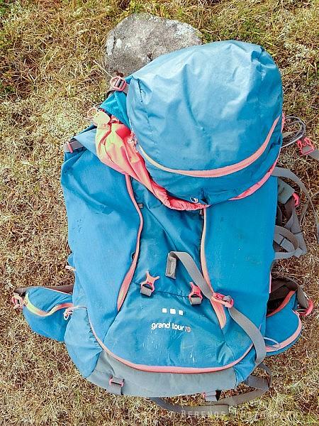 Montane Grand Tour 70 rucksack