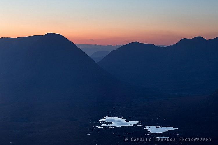 Beinn Eighe and Liathach at dawn