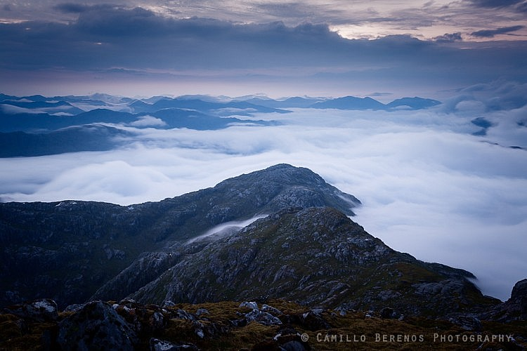 An inversion seen from Sgurr na Ciche