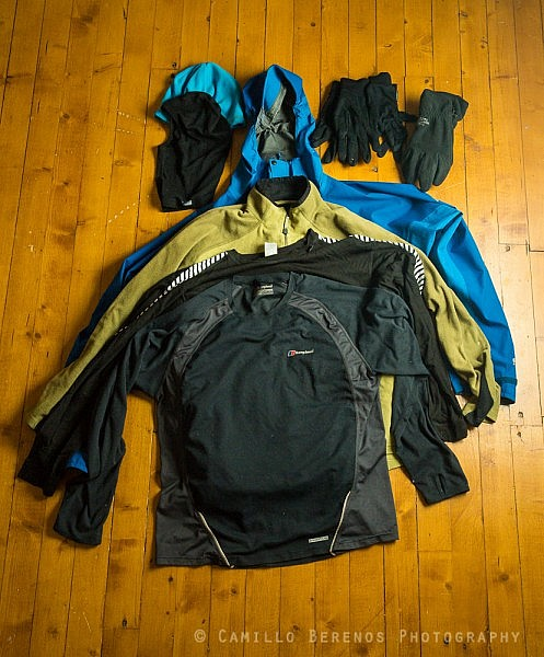 clothes backpacking