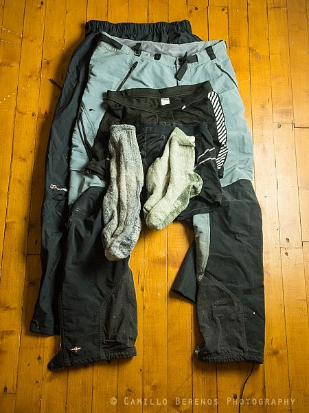 wild camping clothes