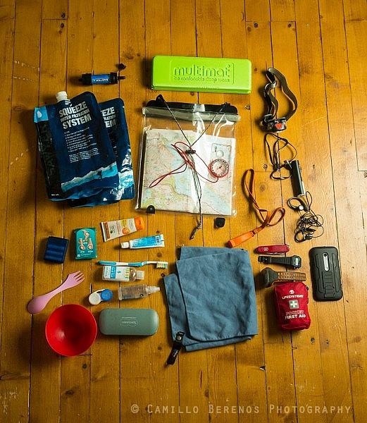 gear wild camping Scotland